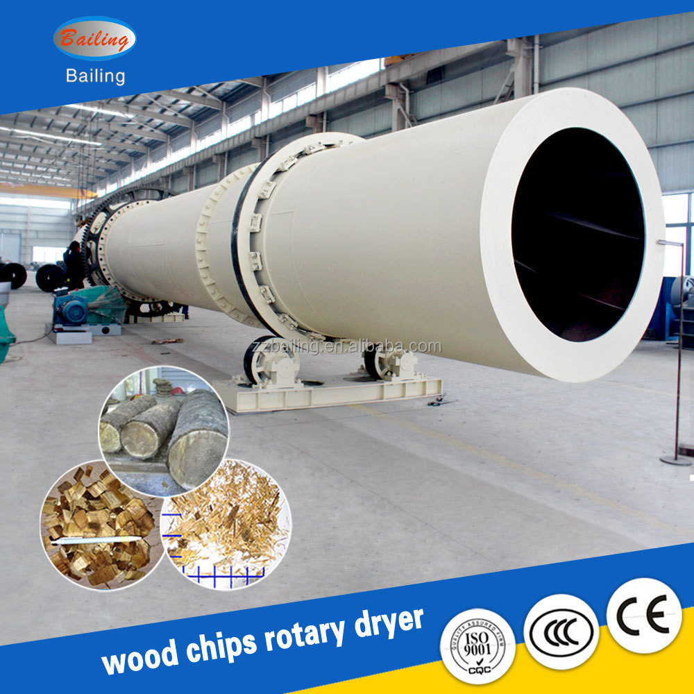 Quality ensured wood sawdust dryer sold well in Malaysia & Romania