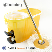 Easy Cleaning Magic Mop PP Thick Bucket 360 Rotation Mop