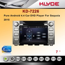 Made in China Cheap car dvd player for Sequoia 2015