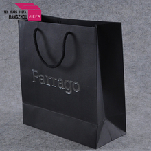 Factory hot sell paper bag garment packaging