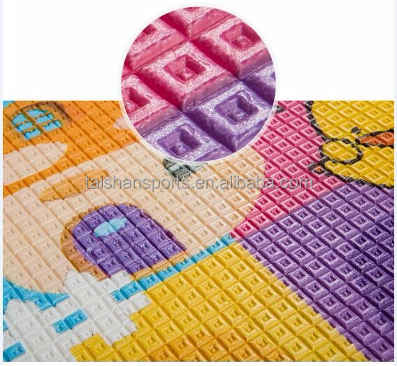 Soft toys kids folding play mat, Baby carpet soft floor mat