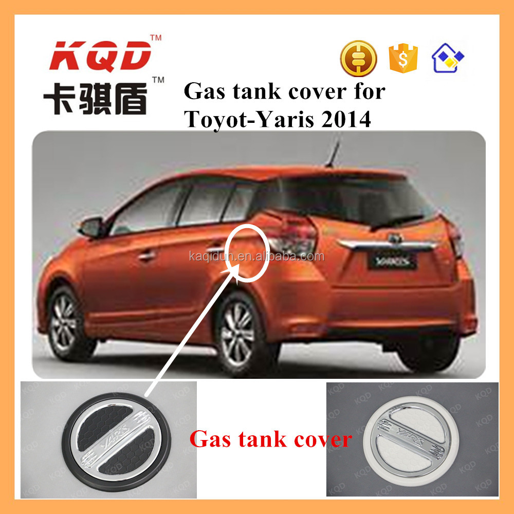 chrome gas tank cover for toyota yaris 2014 accessories fuel tank cap toyota yaris accessories toyota yaris 2016
