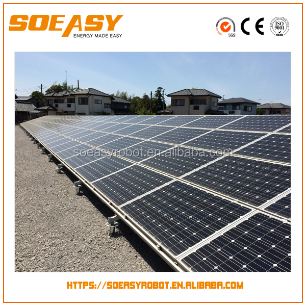 10W-3000W hot selling solar power station and solar power plant with solar panel mounting brackets of pv roof mounting rack