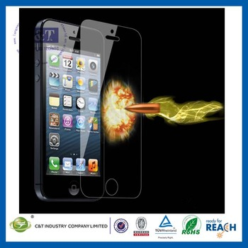 C&T For iphone 5s 9h tempered glass screen protector