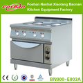 Restaurant kitchen equipment/Stainless steel free standing electric hot plate cooker with oven BN900-E810A