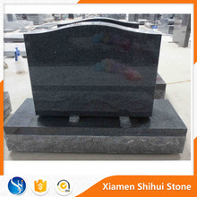 Cheap customized size granite monument Canada headstone