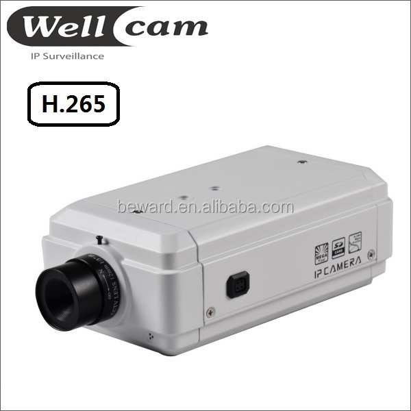 2015 New H.265 Full HD wifi ip camera with i/o alarm port