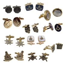 Wholesale Men's Gifts Jewelry Factory Masonic Cufflinks