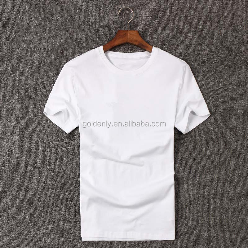 Fashion men classic round neck solid color t shirts,plain color poloshirts,100% organic cotton