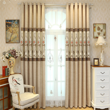 Sunscreen fabric curtains jacquard fabric curtains drapes