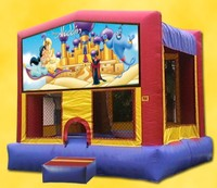 used commercial inflatable aladdin bouncer for sale