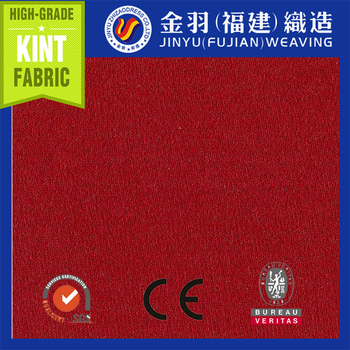 2014 100% polyester one side red bursh fabric