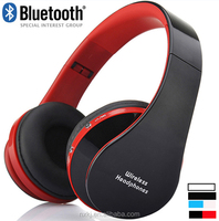 JH 02 2015 New Headband Bluetooth Headset Foldable With 3.5mm wireless bluetooth headset with digital recording
