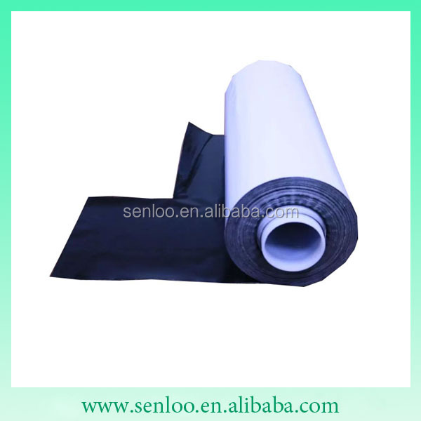 0.2mm thickness double side sticky polyurethane gel sheet in roll