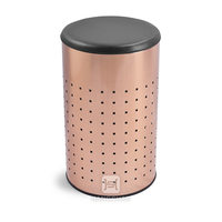 50L PU cover laundry basket for ikea