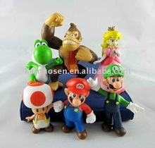 Super Mario Bros Brothers Pvc Toy