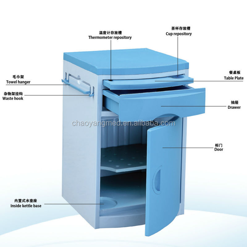 good prices and best quality Hospital bedside cabinet CY-H811