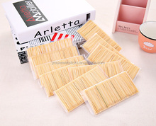 Bamboo Wooden Tooth Pick Friut Toothpicks Cocktail Sticks