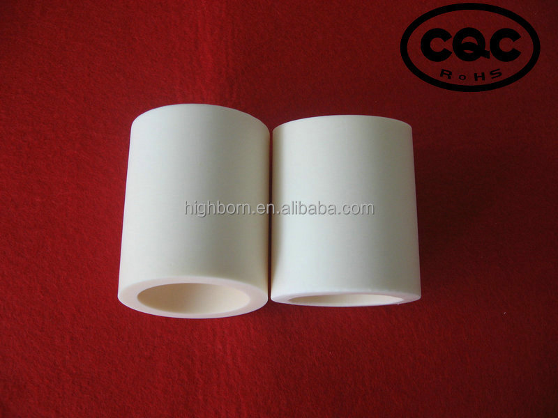 large diameter purity 99% high alumina ceramic tube