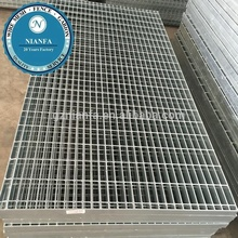 pultruded galvanized steel bar grating with 2' width 6' length cover grates