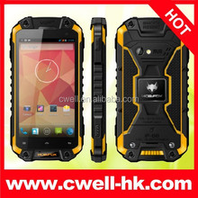 MFOX brand J5 Rugged Phone Android 4.2 IP68 Waterproof Quad Core Cheap Stylish Mobile Phone