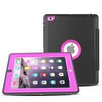 Wholesale Price For iPad 2 3 4 TPU Case Magnetic Cover For iPad Folding Case