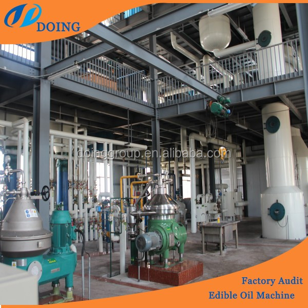 5T-20T/D crude palm/palm kernel/peanut/cotton/soya oil refinery plants