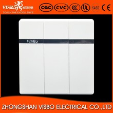High Quality Wall Electric 3 gang 2 Way Light Switch