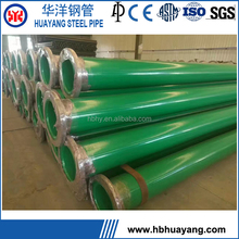 Q235B 8 Inch PVC Coated Steel Pipe