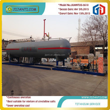 Skid 5CM 10CM 15 CM Lpg filling station