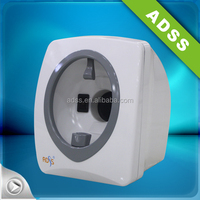 Moisture skin analyzer magnifier machine