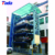manual type PLC automatic rotary parking system with safety sensors