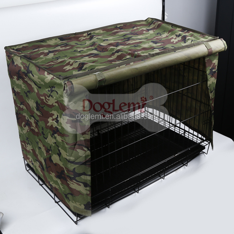 Pet Cage Cover Pet Crate Cover for Wire Cage Light Dog Kennel Cage Cover Waterproof Dustproof Windproof