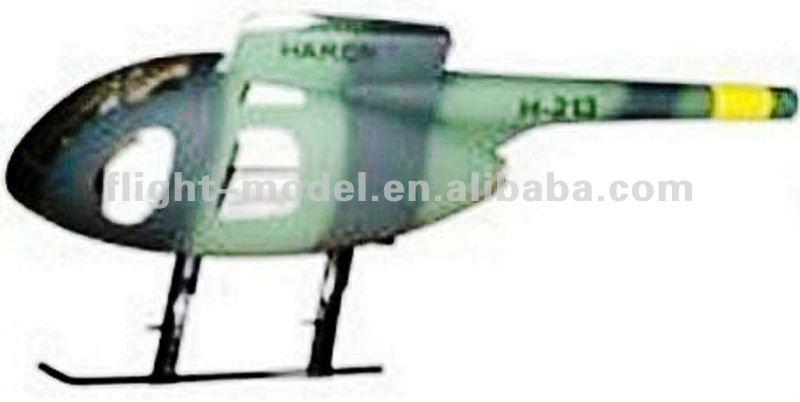 Elicottero 500 Rc : Hot formato huges md rc elicottero fusoliera
