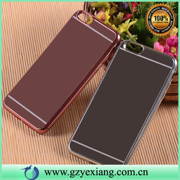 new arrival tpu mobile phone cover for huawei ascend y625 mirror case