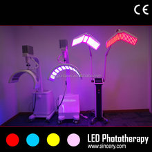 Top quality multi-functional LED phototherapy for acne treatment&pigment removal