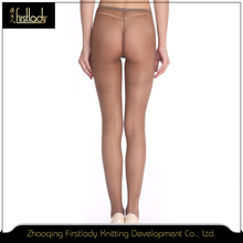 15d Low-waist Breathable compression tube pantyhose tights for women