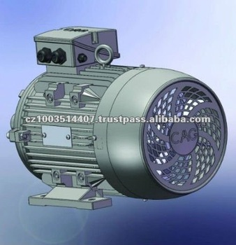 CAG IE 2 Aluminium Frame Three Phase Electrical Motor 11kW