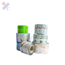 Custom aluminum foil laminated roll film Food Packaging Plastic Roll Film Laminating Pouch