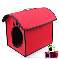Factory Sale Flocking Cloth Popular Pet Wholesale Fabric Dog House