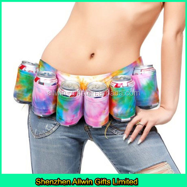 Top Selling 6 pack beer holster,can holster belt