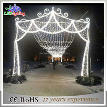 Remote control christmas light led arch decoration light