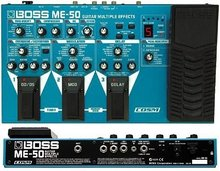 Boss Me-50 Guitar Multi Effects Processor