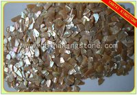 Surface finish mother of pearl shell chips for terrazzo use