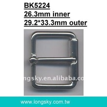 Zinc buckle with prong (#BK5224/26.3mm inner)