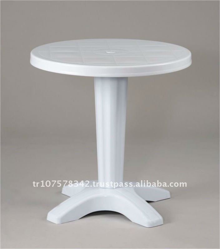 round plastic table top