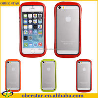 Mobile phone case For iPhone 5 5S Hot style thin waist aluminum metal bumper frame