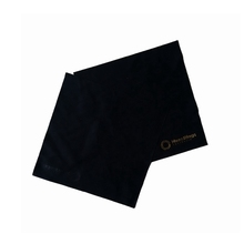 Specific microfiber jewelry cleaning with gold logo cloth