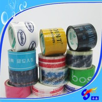 Custom made logo tape colorful opp packing tape