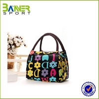 OEM factory Custom LOGO Customized Color foldable lunch bag